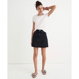 Madewell Denim Frisco Mini Skirt